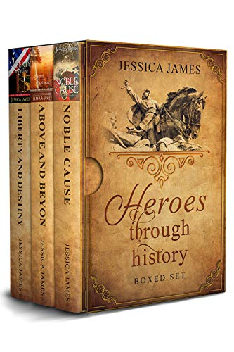 Heroes Through History Series 3-Book Boxed Set: Civil War historical romance: A love story in old Virginia