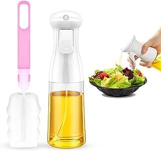AriTan Olive Oil Sprayer Dispenser for Cooking(200ML), Plastic Bottle with Bottle Brush and oil Funnel for BBQ, Making Sal...