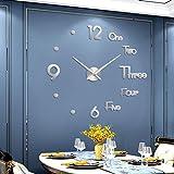 Hooqict DIY Wall Clock Large 3D DIY Wall Clock...