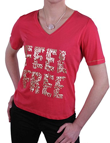 JETTE Joop Damen Shirt T-Shirt Kurzarm Rot Gr. 38#18(38)