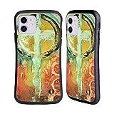 Head Case Designs Licenciado Oficialmente Michel Keck Salmo 2 Abstracto religioso Carcasa híbrida Compatible con Apple iPhone 11