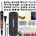 98pcs Wood Burning kit, Professional WoodBurning Pen Tool, DIY Creative Tools Adjustable Temperature 392°F-842°F,Wood Burner for Embossing/Carving/Pyrography,Suitable for Beginners,Adults,Kids
