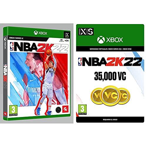 NBA 2K22 Xbox Series X Estándar + 35,000 VC (Xbox - Código de descarga)