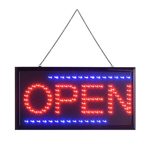 "LED OPEN Display Schild, LED Leuchtreklame Werbung, 3-5W LED-Schild, Energieeinsparung (Barber""OPEN"" 2)"