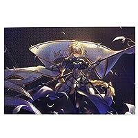 1000ピース 木質 ジグソーパズル 漫画 Fgo Fate/Grand Order 綺麗 萌え フェイト 1000ピース(75.5x50.3cm)