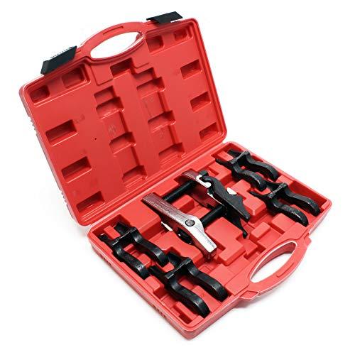 Set 5 piezas extractores rótulas Separador rótulas dirección Destalonador Desmontaje Desatornillar