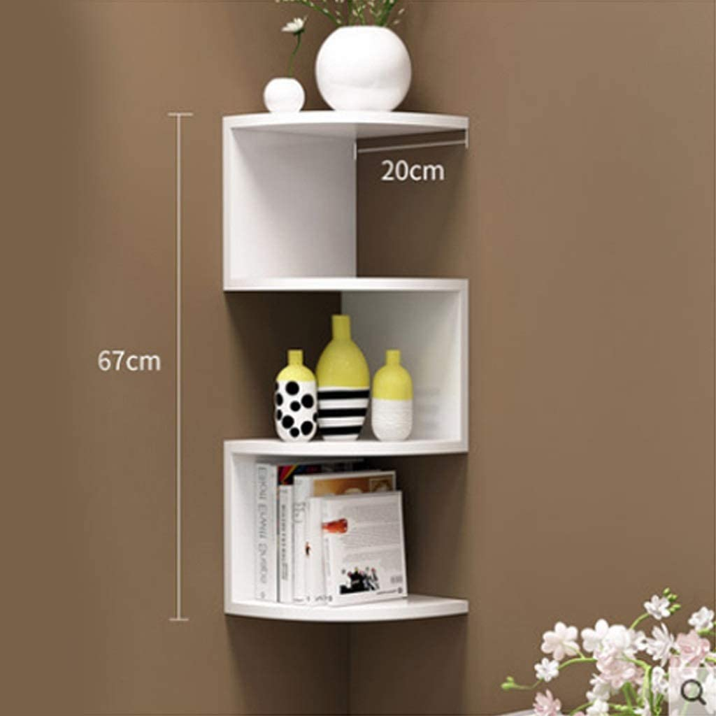 ZHAN YI SHOP Multilayer Wall Mounted Floating Our shop OFFers the best service Corner SEAL limited product Shelf Part