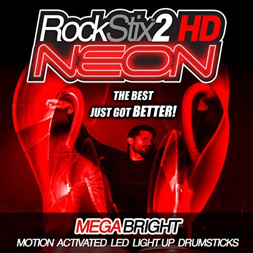 ROCKSTIX2 HD NEON - ULTRA ROJO