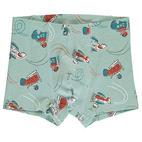 maxomorra Jungen Boxershorts/Unterhose mit Flugzeugen Größe 74/80