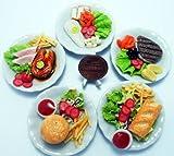 5 Mix Dollhouse miniature Food,Tiny Food, Collectibles, Food