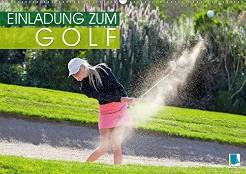Einladung zum Golf (Wandkalender 2021 DIN A2 quer)