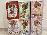 Qposket カードキャプターさくら 全6種セット