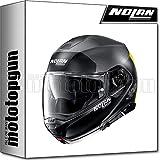 NOLAN CASCO MOTO MODULARE N100-5 PLUS DISTINCTIVE FLAT LAVA GRIS 025 SZ. XXL