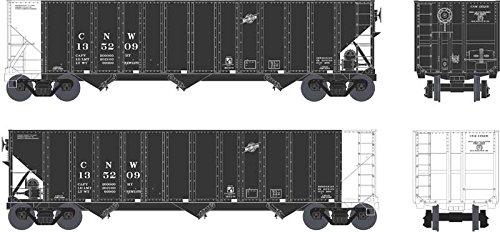 Bowser BOW41702 HO 100-Ton Hopper, C&NW/Black # 135237