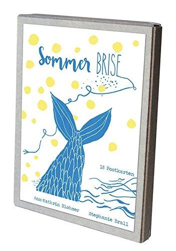 SommerBrise - Postkartenbox: 18 Postkarten