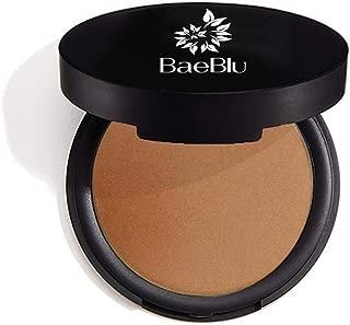 BaeBlu Organic Bronzer 100% Natural Matte Pressed Powder, Made in USA, Endless Summer