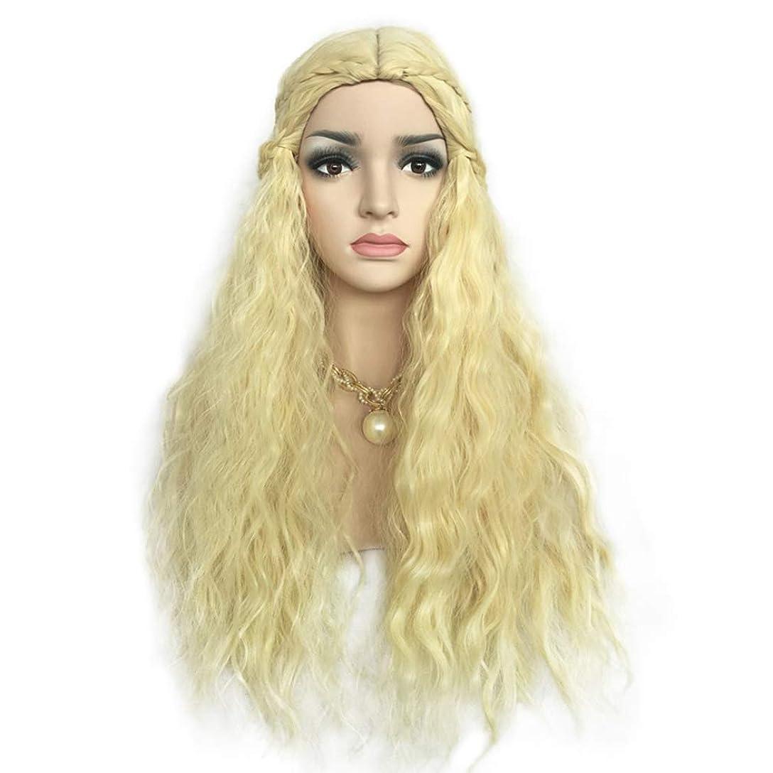 ルーフフォルダ今後かつら自然な柔らかい髪の合成レースのフロントのかつらの女性の自然な外観のフルコスプレのかつら半分の結ばれた