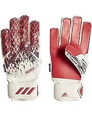 Adidas Kinder PRED GL FS MNJ Voetbalhandschoenen, Wit/Zwart/Actief rood, 5.5