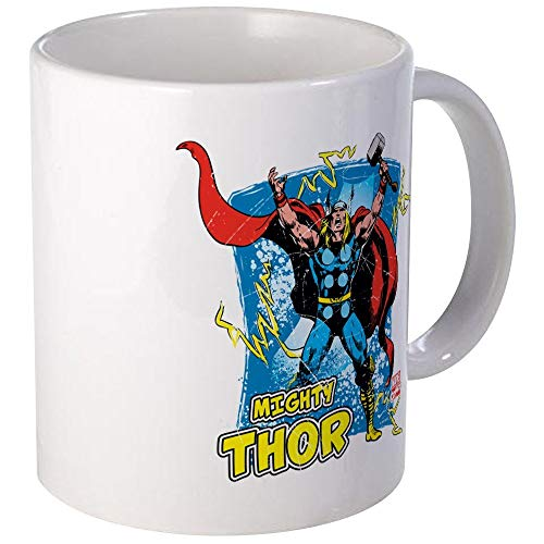 N\A Mighty Thor Mug Taza de café única, Taza de café