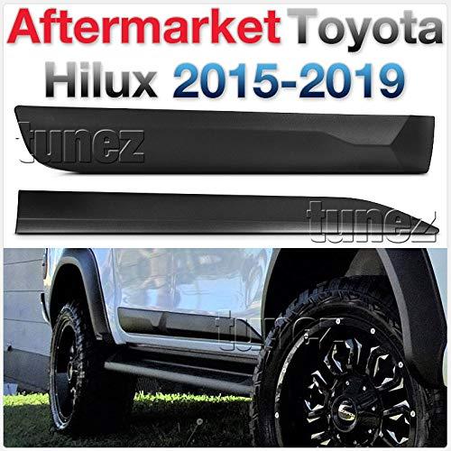 Protector de puerta acolchado lateral para Hilux TRD 2016 2017 2018 invencible X Icon