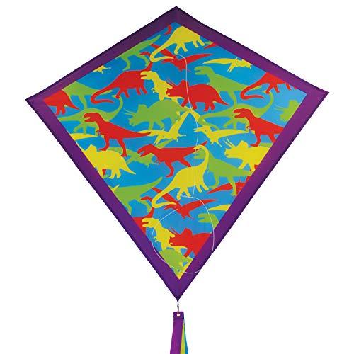 "In the Breeze 3267 - Dino Camo 30"" Diamond Kite - Fun, Easy Flying Camo Kite"
