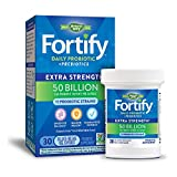Nature's Way Fortify Extra Strength Daily Probiotic, 50 Billion Live Cultures, 11 Strains, 30 Count