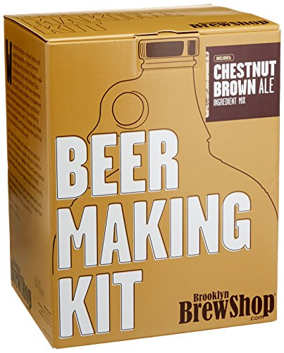 Brooklyn Brew Shop Chestnut Brown Ale Beer Making Kit: All-Grain...