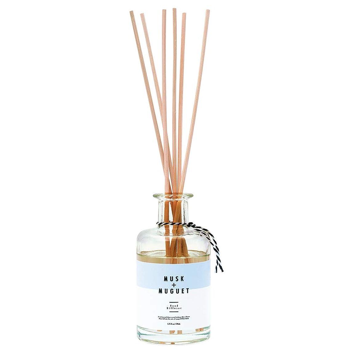 煩わしい細いヒールノルコーポレーション リードディフューザー ホワイトムスク&ミュゲの香り 170ml