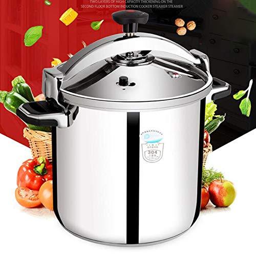 11L-30L304 Acier inoxydable Cuisinière commerciale Cuisson à induction de grande capacité, cuisinière à gaz générale, cuisinière à grande pression, épreuve d'explosion familiale, adaptée à l'hôtel Res