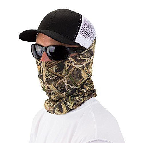 Mossy Oak Blades Seamless UPF 30 High Performance Moisture Wicking Bandana Made of 100% Polyester...