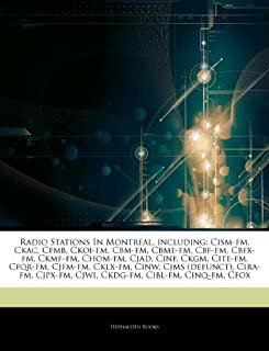 Articles On Radio Stations In Montreal, including: Cism-fm, Ckac, Cfmb, Ckoi-fm, Cbm-fm, Cbme-fm, Cbf-fm, Cbfx-fm, Ckmf-fm...