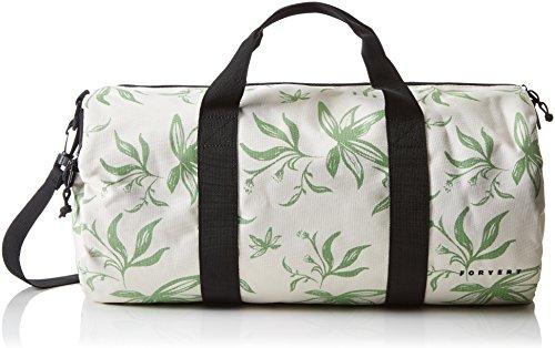 FORVERT Duffle Bag Bank - Bolso, Color (Flower White), Talla