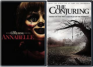 The Conjuring & Annabelle DVD Scary Paranormal Horror Thriller Movie Collection