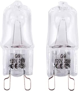 W10709921 Microwave Light Bulbs Compatible with Kitchenaid Jenn-air Whirlpool Maytag Replace for W10112515 AP5983626 PS11722423 AH2338904 1464853 AP4358902 EA2338904 PS2338904 W10208564(2 Pack)