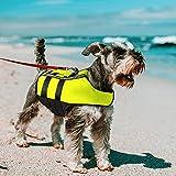 NAMSAN Chaleco Salvavidas para Perros Chaleco Reflectante para Mascotas con...