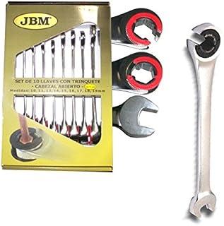 10/mm Azul Max-power um901010/Llave combinada con articulaci/ón de trinquete reversible