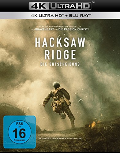 Hacksaw Ridge  (4K Ultra HD) (+ Blu-ray)