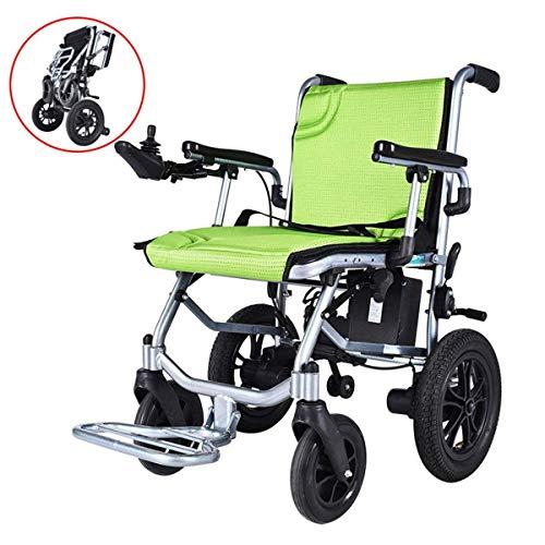 GJNWRQCY De lichtste en compacte elektrische rolstoel ter wereld, de ultradraagbare opvouwbare elektrische rolstoel