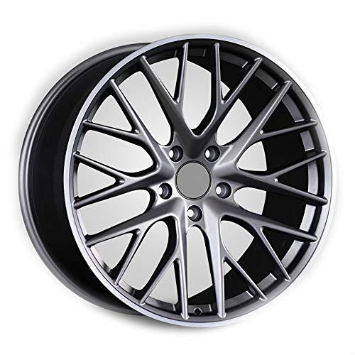 GYZD Alu Felgen 20 Zoll Durchfluss geschmiedete Radlegierung Ersatzrad Auto Rad Maschine Aluminium Felge Passend für R20 *8.5J Reifen Geeignet für macan 718 911 1 (Stück),N