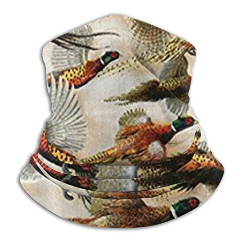 N A Face CoverWild Pheasants Stylish Facial Shield Decorative Neck Scarf Warmer Headband For Camping Yoga Motorcycling