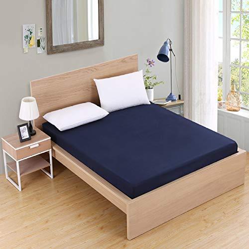 NHhuai Unterbett Soft-Matratzen-Topper, Matratzenschutz Boxspring-Betten geeignet Tagesdecke Bettbeutel Reinigungshülle