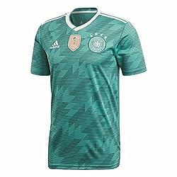 adidas Herren Dfb Away Jersey 2018 Trikot, grün (eqt green s16/White/Real teal s10), M