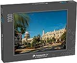 Puzzle 1000 Teile Das Gran Teatro de La Habana, EL Capitolio und Parque Central in Havanna, Kuba, Westindien, Karibik, Mittelamerika (1000, 200 oder 2000 Teile)