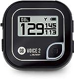 GolfBuddy Voice2 - Sistema GPS da Golf, Taglia Unica, Colore: Nero