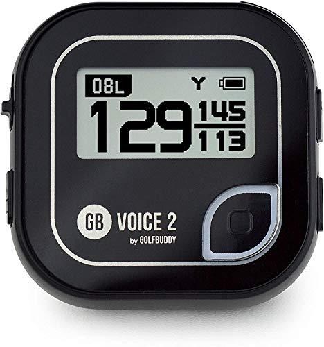 GolfBuddy Voice2 Système GPS de Golf Unisexe Noir Taille Unique