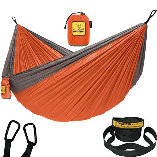 Wise Owl Outfitters Hammock Camping Double & Single...