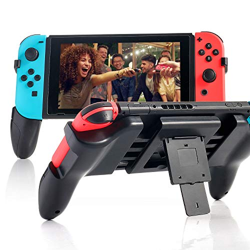 nintendo switch comfort grips Hand Grip for Nintendo Switch, Comfort Controller Grip for Nintendo Switch with 2 Game Slots