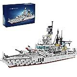 Likecom Juego de construcción de 1716 piezas de construcción de barcos de guerra, compatible con Lego Technic