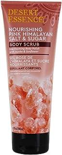 Nourishing Pink Himalayan Salt & Sugar Body Scrub Desert Essence 6.7 oz Scrub