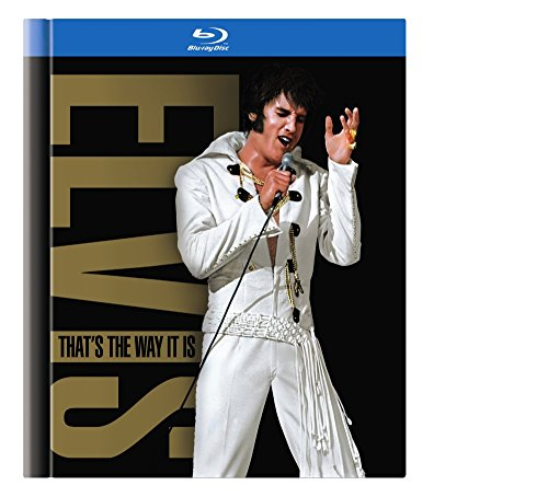 Elvis: That's the Way It Is: 2001 Special Edition + 1970 Theat. Version (BD Book) [Blu-ray]
